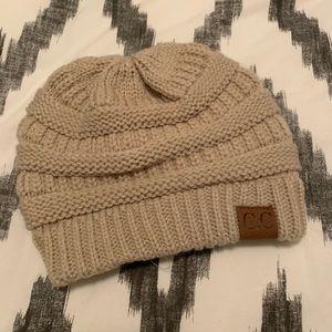 CC knit beanie